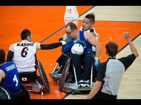 Wheelchair rugby highlights - London 2012 Paralympic Games