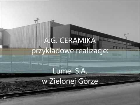 A.G. CERAMIKA - Zielona Góra, Przykładowe Realizacje: Lumel S.A. W Zielonej Górze