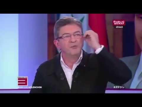 """Mélenchon met une claque aux 2 journalistes de """"Public Sénat"""" concernant la Syrie"""