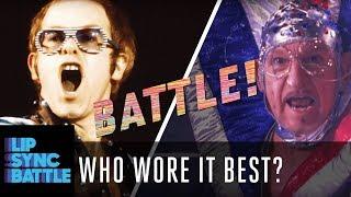 Who Wore it Best?: Beyoncé or Channing Tatum? Elton John or Ben Kingsley? & More!   Lip Sync Battle