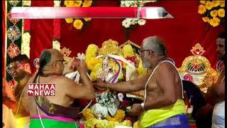 Yadadri Lakshmi Narasimha swamy Brahmotsavam 4th Day Highlights