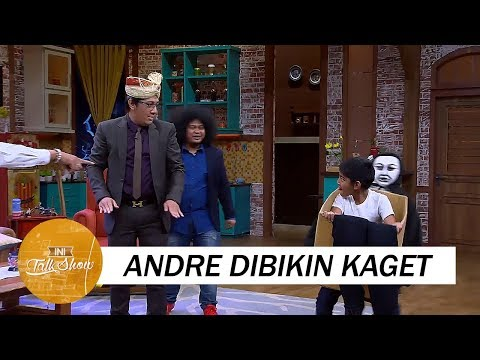 Andre Dibikin Kaget Anaknya