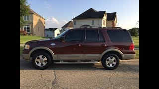 2006 Ford King Ranch Expedition Florida No Rust Clean Carfax Test drive Start up Tour Financing