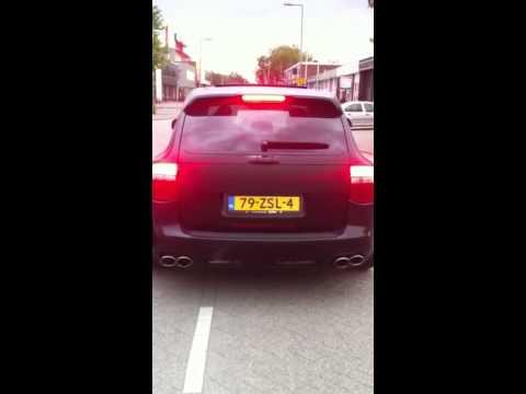 Porsche Cayenne S Sport Uitvoering RVS Sport Uitlaat