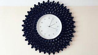 Maman DIY : Cheap and Easy Wall Clock Decoration Ideas