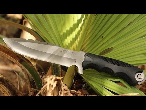 NEW! Schrade SCHF27 Fixed Blade Extreme Survival Knife - Best  Extreme Survival Knife