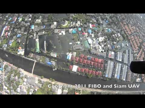 Siam UAV Flight on Klong Prapa (คลองประปา) on 4/11/2011