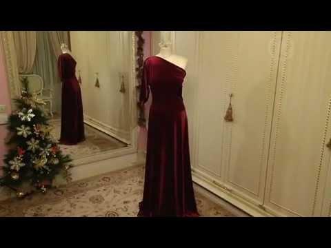 Платье из бархата своими руками фото