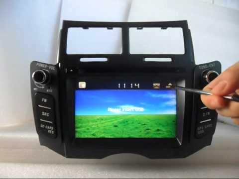 Toyota Yaris DVD Player, Toyota Yaris Radio DVD GPS, Toyota Yaris DVD Navigation TV