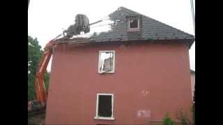 abriss von dach