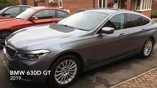 BMW 630d GT walk round video review, brand new 2019 BMW 6 series GT