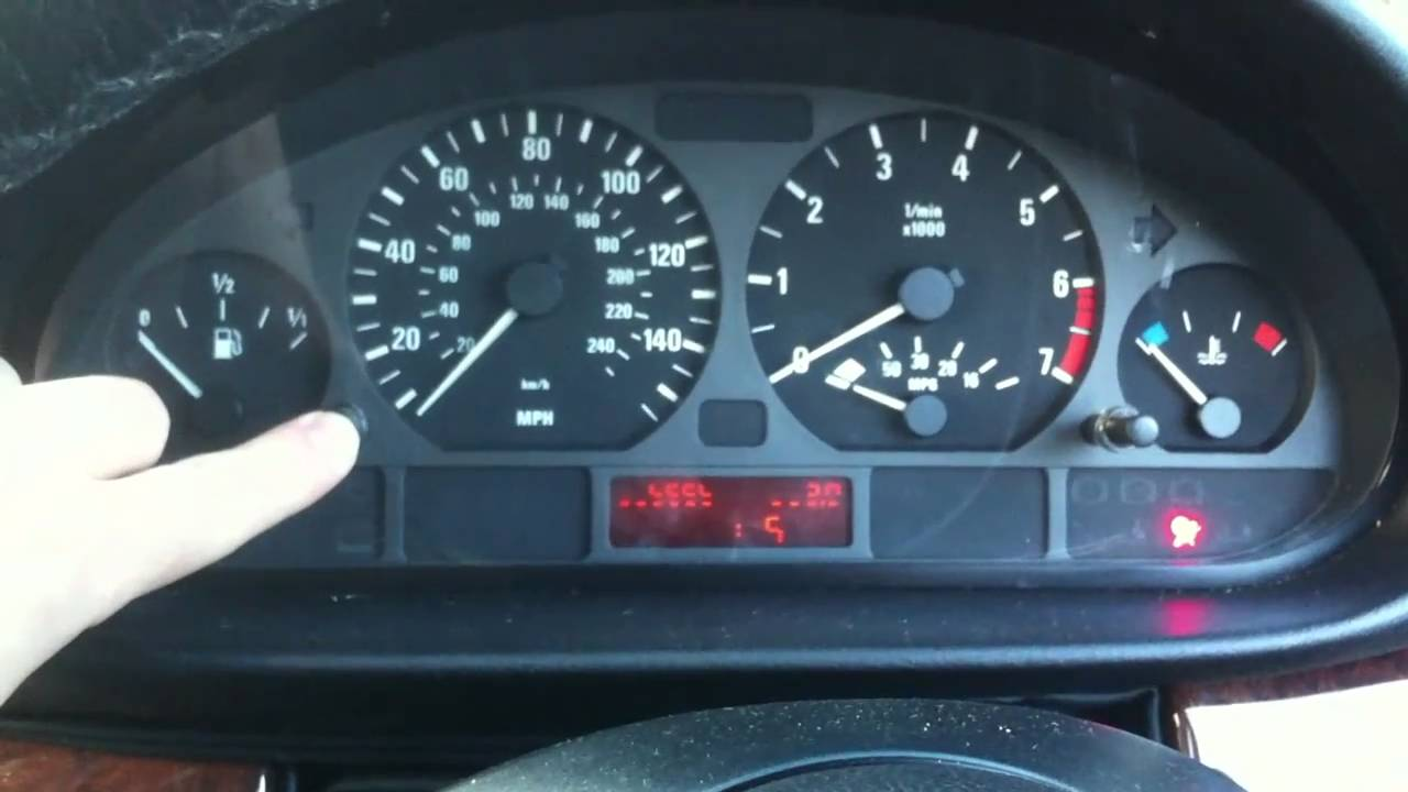 Bmw E46 How To Do Dashboard Diagnostic Test Without Tools