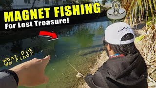 MAGNET FISHING for Lost Treasure   What Did We Find?