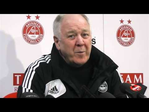 Aberdeen - Craig Brown Pre-match v St Mirren, 08/02/2013