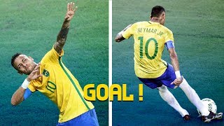 11 Shocking Goals Neymar scored in Brazil