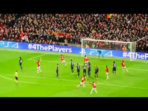 Manchester United - Olympiakos 3:0, 52 min Robin van Persie