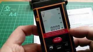 Gearbest 80m Laser Distance Meter (Tape Measure) Review