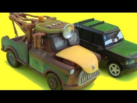 Disney Cars Gearett Taylor 1:55 Scale Dr. Abschlepp Wagen Exclusive Review by BluAndBlo