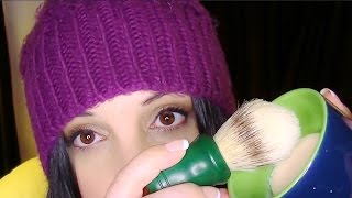 ASMR Binaural Tingle Blitz:  Shaving Lather For Relaxation