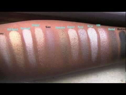 I GOT NAKED 2! ...Urban Decay Naked 2 Swatches