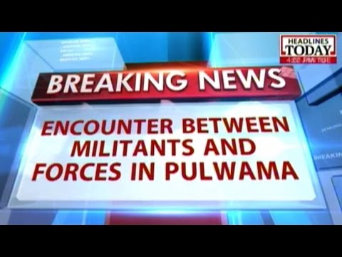 Kashmir: Two militants holed up in house during encounter