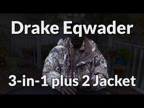 Review - Drake Eqwader 3-in1 plus 2 Wader Coat