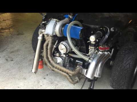 VW Beetle 2332cc turbo from turboroadster @first start up