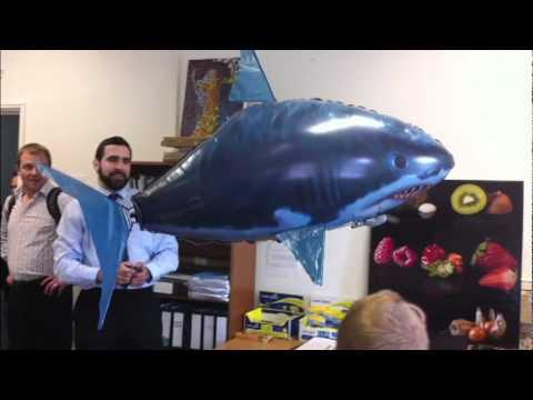 Air Swimmers Shark - Jaws - RC Blimp