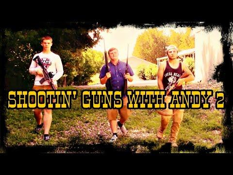 22 Rifle Challenge!! + AR-15 (Shootin' Guns With Andy)