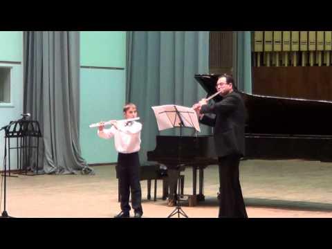 Бетховен, Людвиг ван - Аллегро и менуэт соль мажор для 2-х флейт