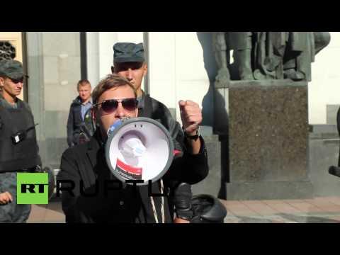 Ukraine: Right Sector demand 'lustration or castration' of Kiev govt