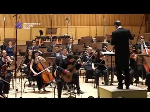 Goran Krivokapic plays Villa-Lobos Concerto: I. Allegro Preciso