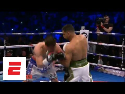 Amir Khan finishes Phil Lo Greco in 39 seconds | ESPN