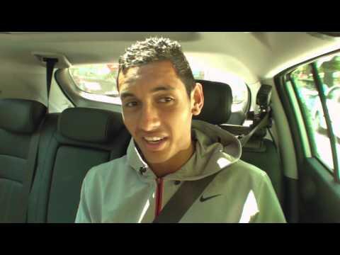 Nick Kyrgios: Kia Open Drive - 2014 Australian Open