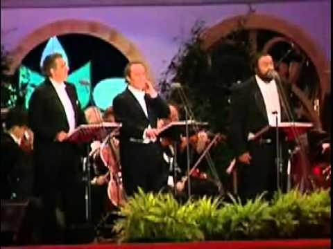 """José Carreras; Luciano Pavarotti; Plácido Domingo """" Ay Ay Ay """""""