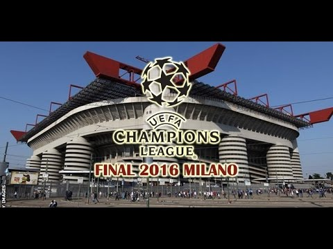 PES 2016 UEFA Champions League Final (PS3 gameplay HD)