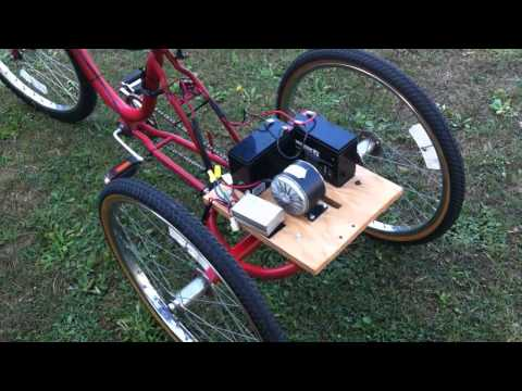 Electric Trike Project — Part 1