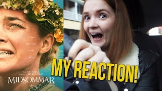 COME WITH ME: Midsommar (2019) MY REACTION! | Ari Aster *spoiler*