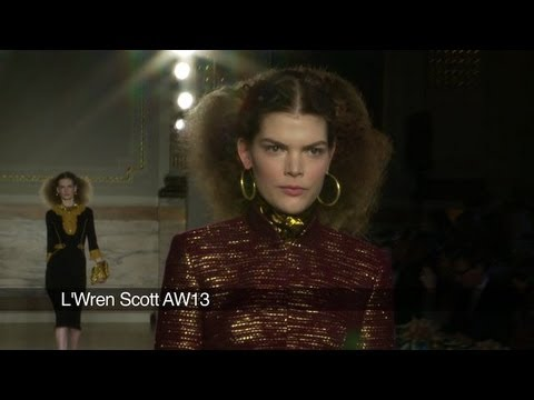 L'Wren Scott London Fashion Week show: L'Wren Scott AW 2013 Collection