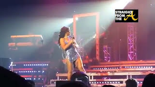 Toni Braxton Wardrobe Malfunction (New Jersey Performance 2013)