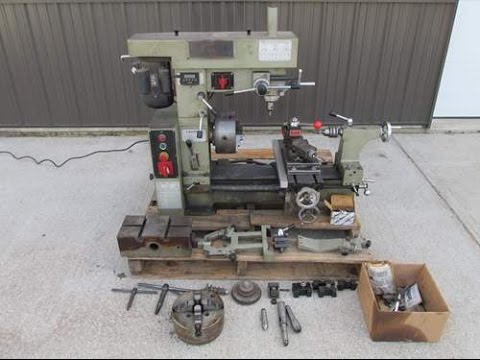 Smithy Midas Multi-Purpose Lathe Mill Milling Machine Combo 3 in 1 with DRO For Sale