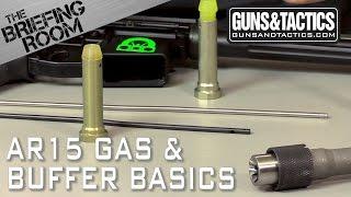 AR15 Gas System and Buffer Basics