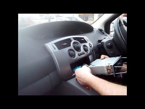 Radio Removal Renault Scenic (2003-2009)   JustAudioTips
