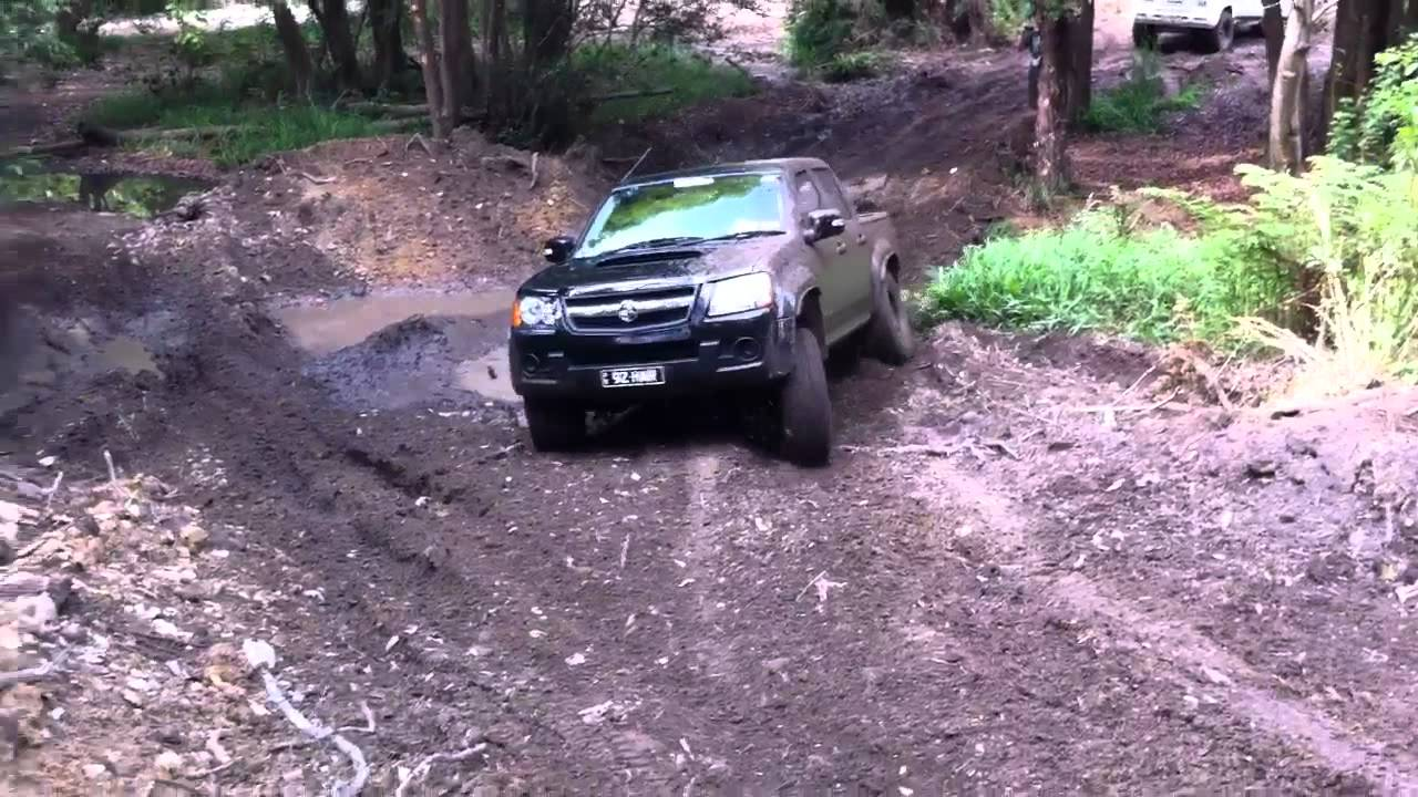 Holden Colorado 4x4 Youtube