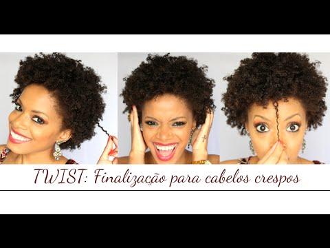 TWIST: Finaliza��o para cabelos crespos