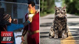 'Shazam' and 'Pet Sematary' Make Strong Domestic Debuts at Box Office | THR News