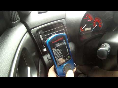 2011 STI COBB Tuning V3 Sub-003 Accessport Review Close-Up 1. 3 & 6 Gauges