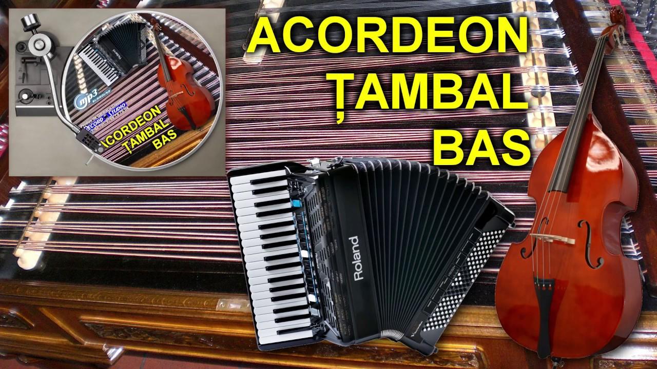 ACORDEON, TAMBAL SI BAS ♫ 60MIN ♫ ORCHESTRA MUZICA AUTENTICA LAUTAREASCA ♫ LIVE 2017