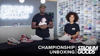 "OG Nike vs. Off-White Nike: Which Is Better? | Stadium Goods ""Championship Unboxing"""
