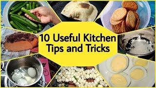 10 பயனுள்ள சமையல் குறிப்புகள் / 10 Useful Kitchen Tips and Tricks